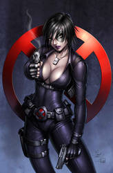 Domino Commission Digital Colors by Dawn-McTeigue