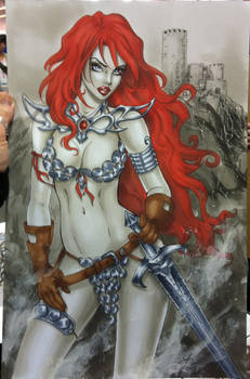 Red Sonja NYCC 2013 commission