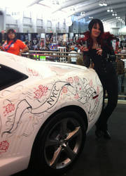 NYCC 2013 Artists Alley Camaro drawing