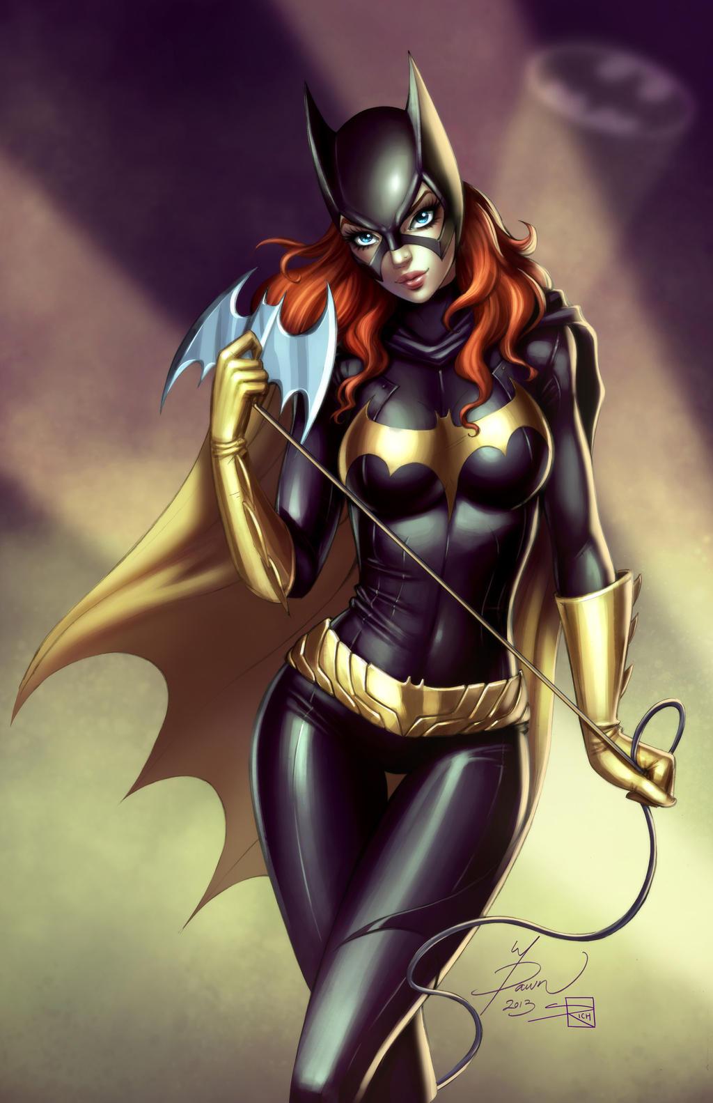 Sexy batgirl cartoon