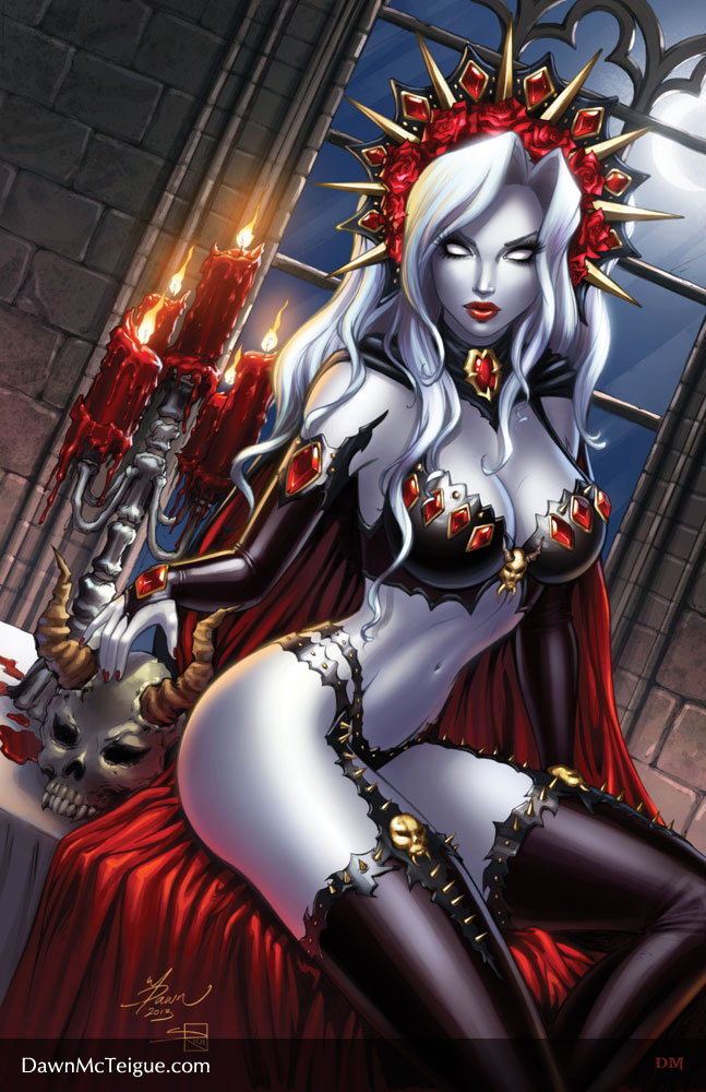 Lady Death: Shimmer #1 by Dawn-McTeigue