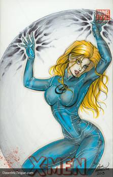 Fantastic Four Sue Storm Blank