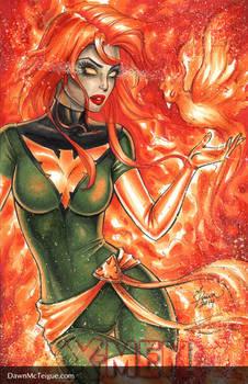 Jean Grey Phoenix Blank