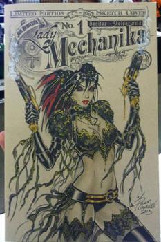 Lady Mechanika Blank