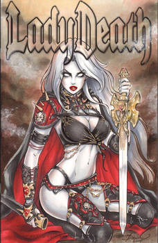 Lady Death Blank