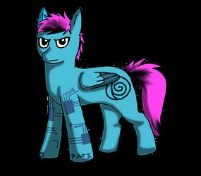 Bret Pony by darkacehaha