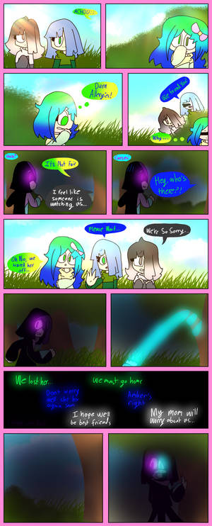[Alternate Glitchtale The Past] Chapter 1 Pg 3