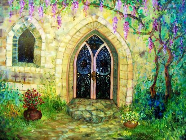 Chapel on Tea Towel Hill by KellyDelRosso