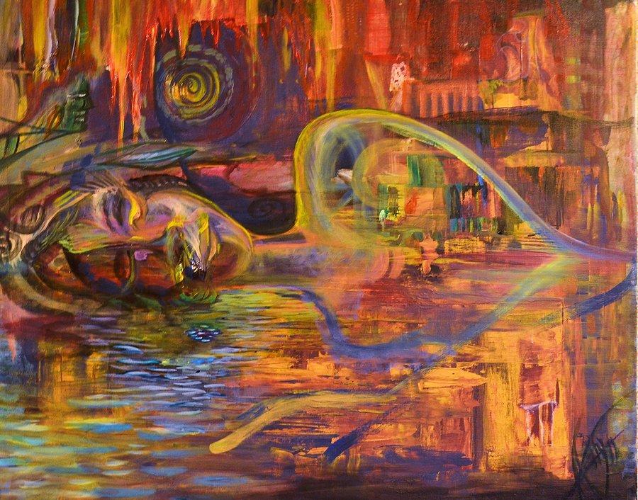 Wet Dream by KellyDelRosso