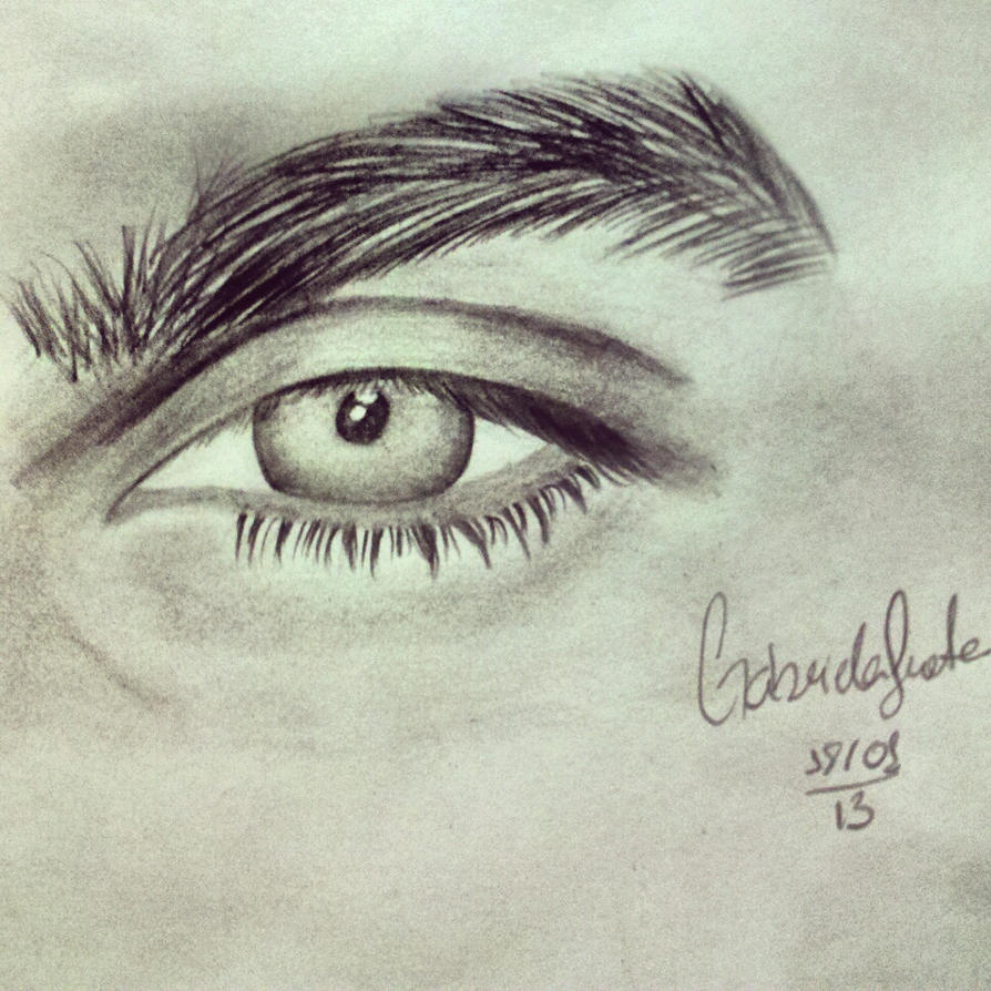 Ian Somerhalder's eye by GabrielaFrota