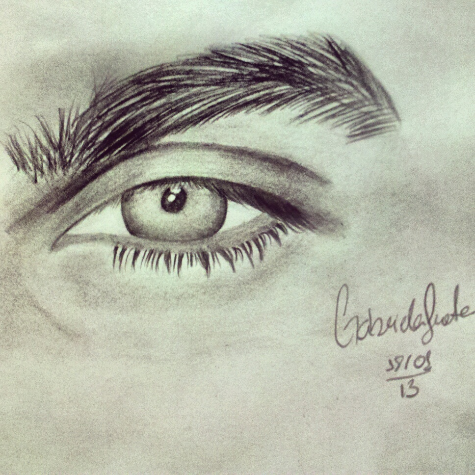 Ian Somerhalder's eye by GabrielaFrota