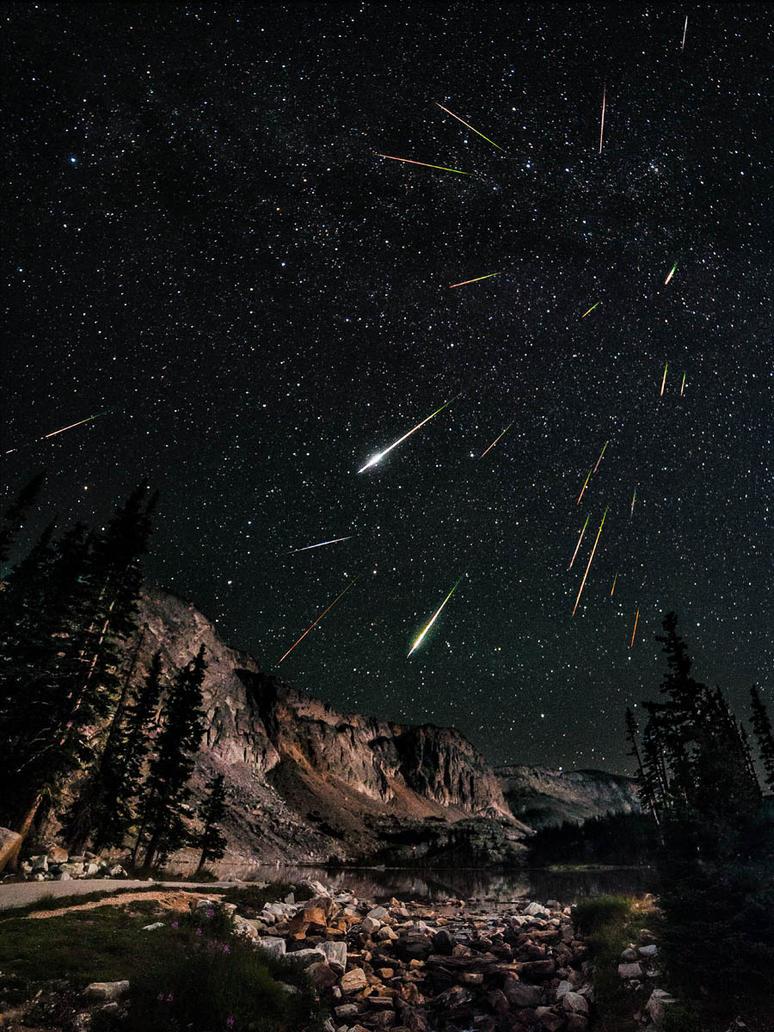 2012 Perseids Meteor Shower by davidkingham on DeviantArt  2012 Perseids M...