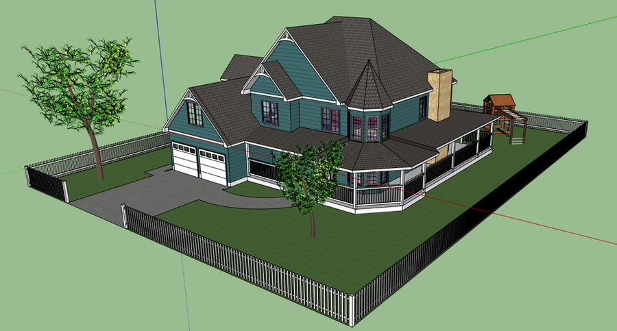 Google Sketchup House By Shai2623 On DeviantArt
