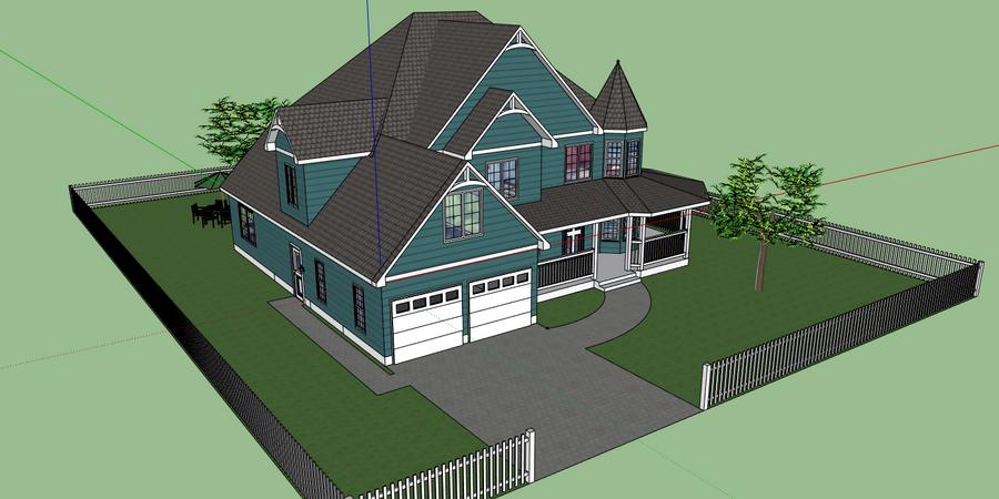 Google Sketchup House By Shai2623 On Deviantart