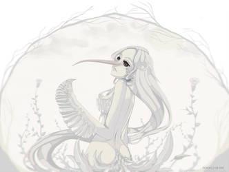 Albino//Hummingbird by Rikku-Shiki