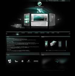 Sony Ericsson X1 by fERs