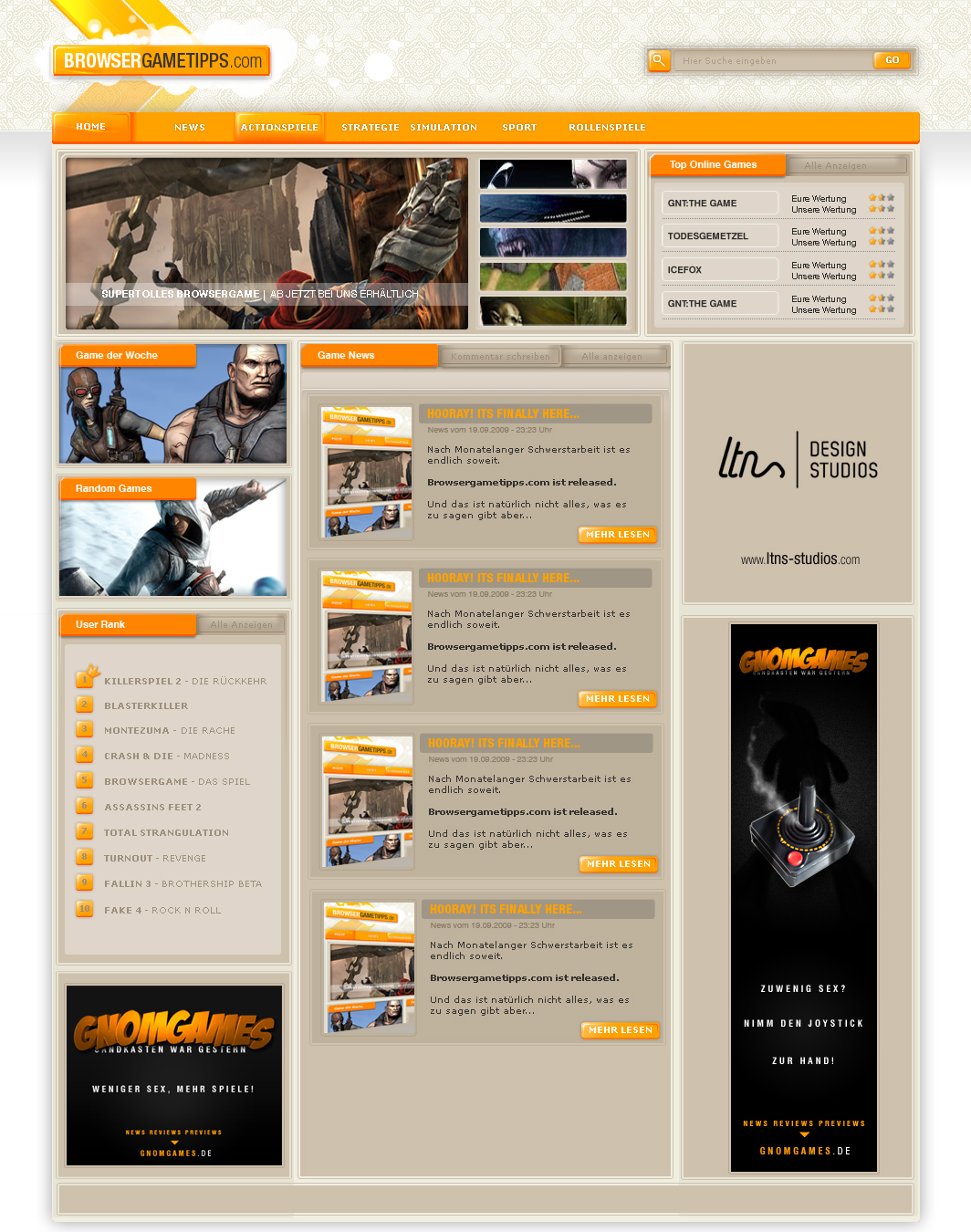 Browsergametipps.com by fERs