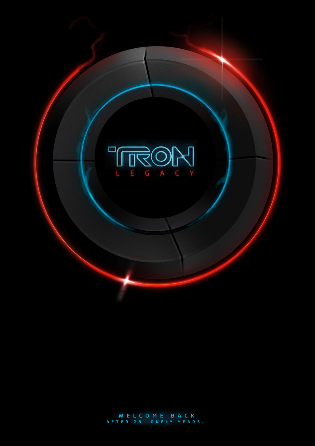 Welcome back Tron by fERs