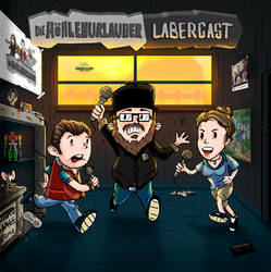 Hoehlenurlauber Labercast Cover by fERs