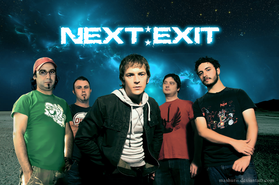 Next:Exit EP Cover by mashurii