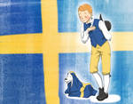 in honor of the Swedish national day