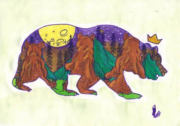 Memento 07 - Bear Mom by tiopalada