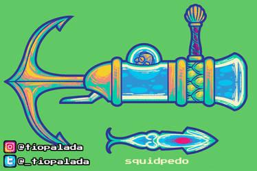 WeaponDesignChallenge - Crystal Gun of The Oceans