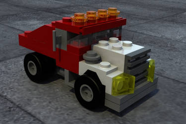 3D Truck 2 by rossni