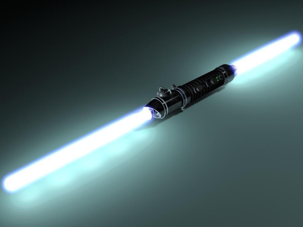 how to build a double bladed lightsaber