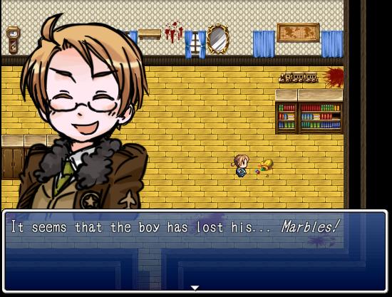 [Hetalia RPG] Mansion of Despair: Screenshot 1 by KingDespair
