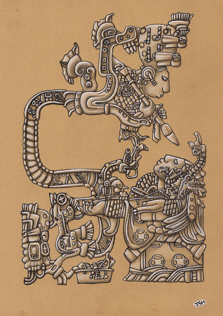 Mayan Vision by If-not-for-Gravity