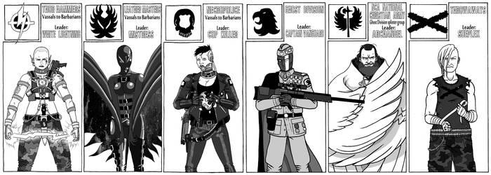 Gangs - DC Adventures: Midnight city