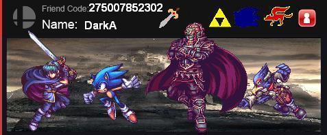 DarkA's Brawl Card by TaintedKing