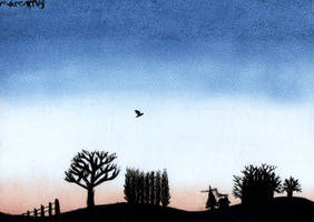 Winter Sunrise 1 by marcony