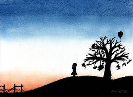 Winter Sunrise - Childhood by marcony