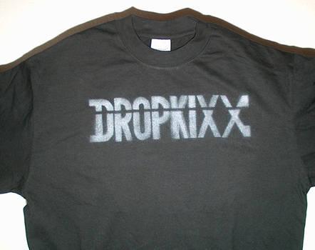 Dropkixx T shirt (Silver)