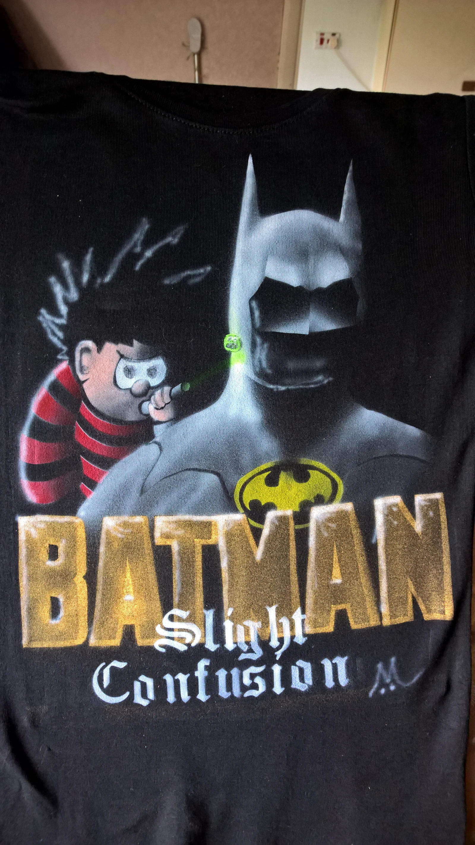 Batman Vs Dennis The Menace by marcony
