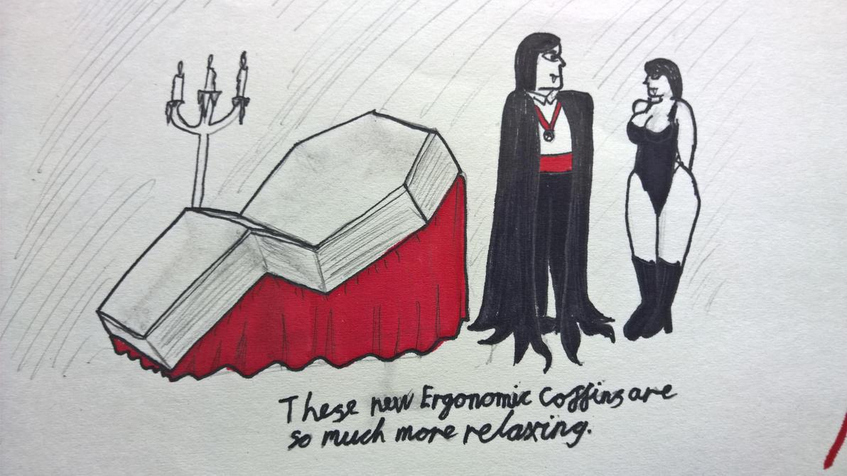 Necro-Ergonomics by marcony