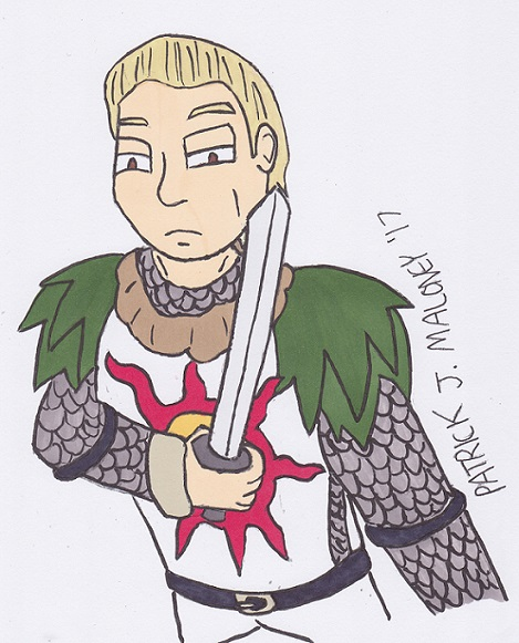 Solaire for Emzie by Kinggigasmon