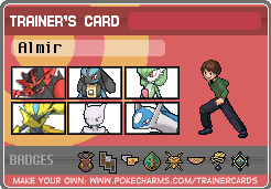 My Trainer Card by AlmirVelovic