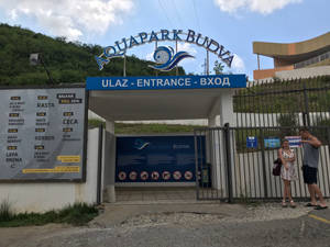 AquaPark Main Entrance