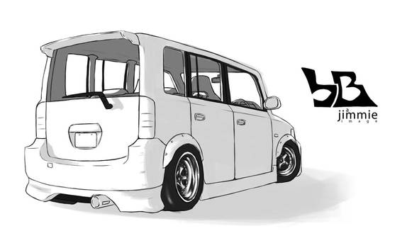 Toyota bB by Spoonboy