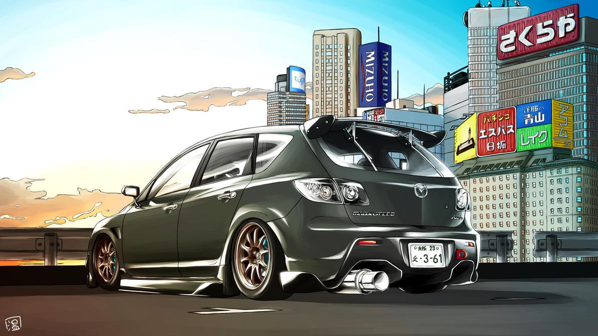 Mazda Axela by Spoonboy