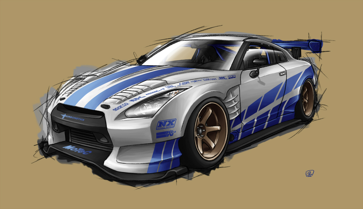 2 Fast 2 Furious R35 by Spoonboy