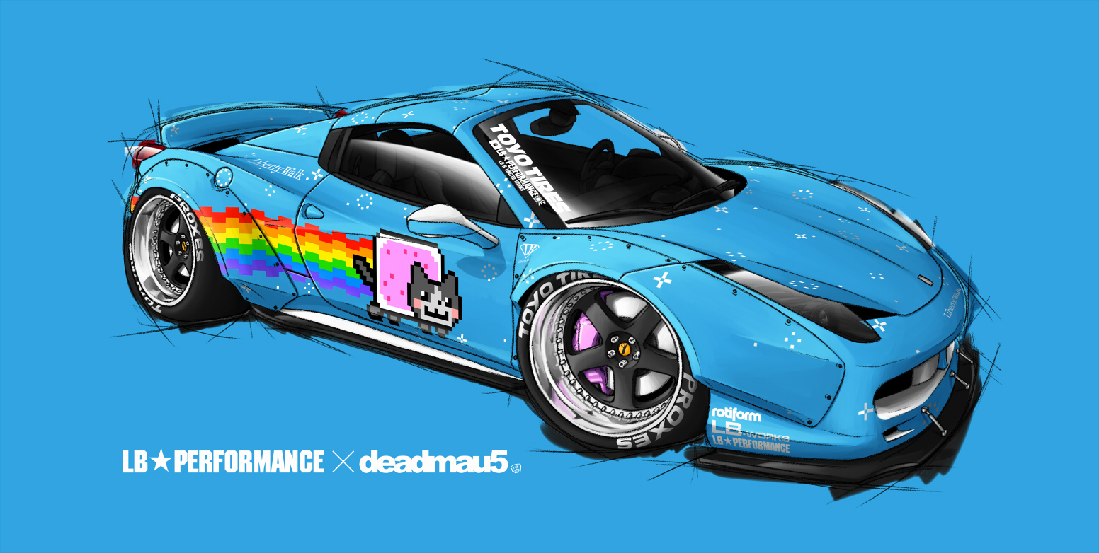LB Works Purrari by Spoonboy