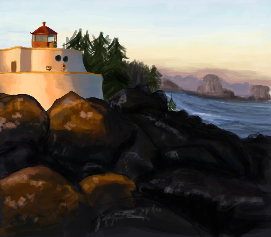 Lighthouse by goodgooey