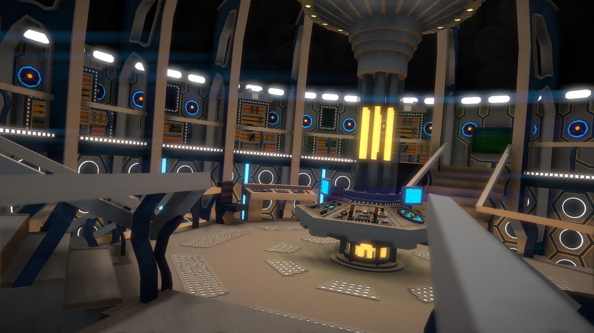 My TARDIS Interior By Ludosilver ...