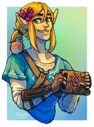 link and bird