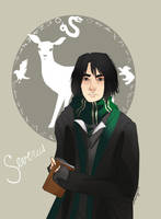 Harry Potter: Severus Snape by GamancayOkami