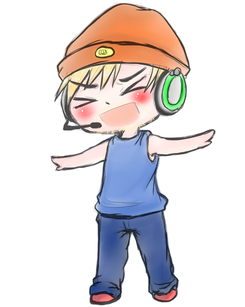 PewDiePie The Rapper by MrLudwigBeilschmidt